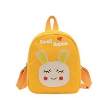 2021 Cartoon Rabbit kindergarten backpack Cute Canvas children