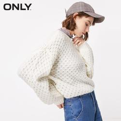 Только осень новый круглый вырез пуловер прозрачный свитер | 118313509