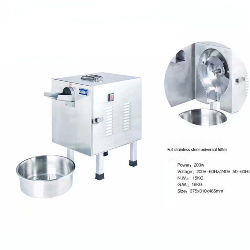 Commercial Vegetable Cutter Multifunctional Fruit Vegetable Slicer Cutter Scallion Shreding Machine 100 150kg hour in Food Processors from Home Appliances