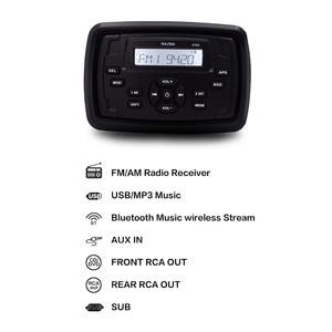 Waterproof Marine Radio Blueto