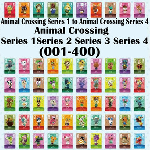 (Free Aliexpress Standard Shipping) Series 1 2 3 4(001-400) Animal Crossing Card for NS Games Suppoer NFC 3DS Amiibo Card(China)