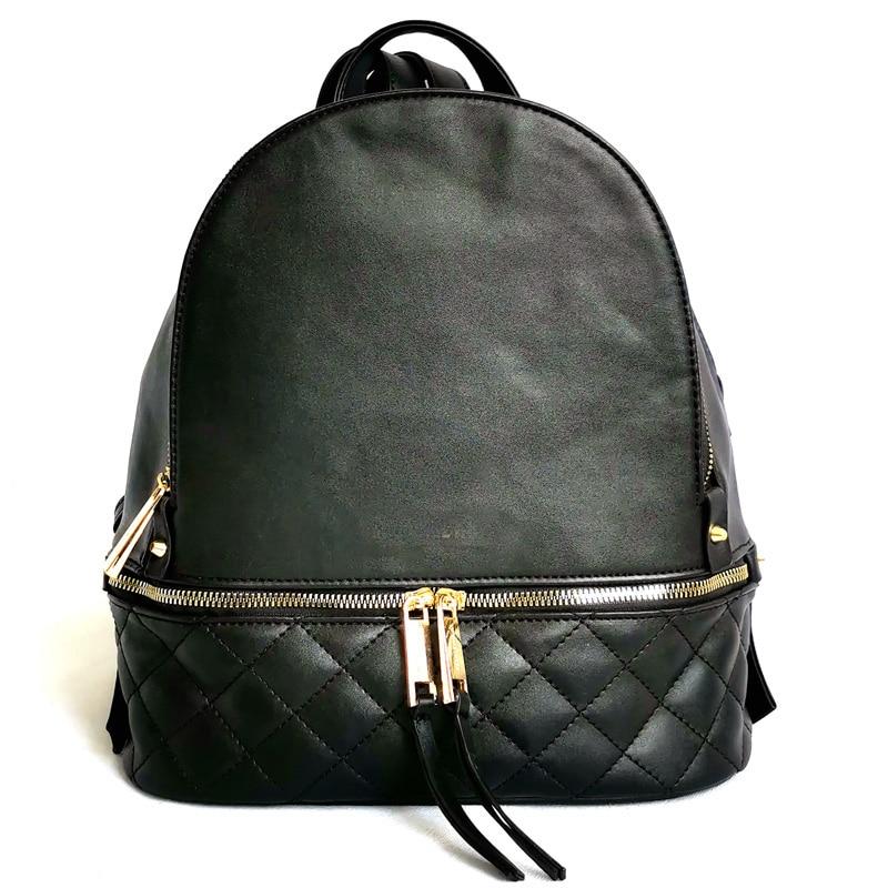 Women PU Leather Travel Punk Student Michael MultiFunction Travel Backpack Girl School Hand Bag Shoulders Ladies Designer Bolsas