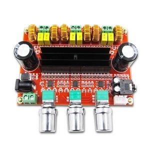 Image 4 - 2.1 Channel Subwoofer Audio Versterker Board 100W + 2*80W TPA3116D2 Power Digitale Stereo Amp Hifi DC12 24V