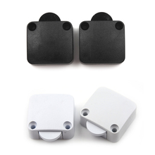 2pcs 202A Door Control Switch Automatic Reset Switch Wardrobe Cabinet Light Switch Home Furniture Cabinet Cupboard Light Switch