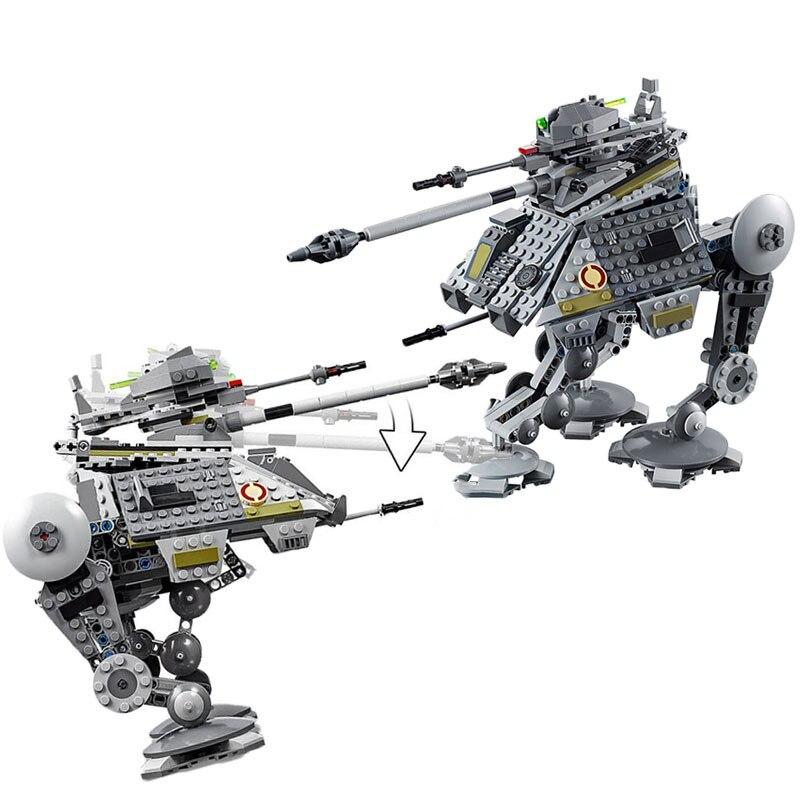 Star Wars 2020 New AT-AP Walker Lepining StarWar Figures Building Blocks Bricks Toys 7502175234