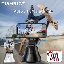 360 Degrees Face Object Smart Following Shooting Video Photo Bluetooth Gimbal Selfie Stick with Tripod for iPhone/Xiaomi Phone