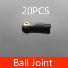 20PCS Ball Head Holder M2/M2.5/M3 Universal Rolling Metal Sphere PC DIY Spare Part  for RC FPV Racing Drone Model
