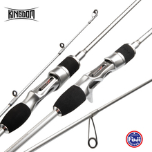 Kingdom SILVER TRUE Spinning Fishing Carbon Rods 1.89m /2m All FUJI Accessories Good Sensitive And Accurate-Casting Fishing Rods