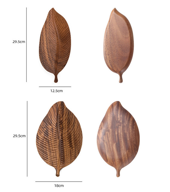 Leaf-Serving-Tray-Storage-Dessert-Wooden-Organizer-Plate-Wood-Decorative-Trays-Photography-Accessories-Home-Small-Stuff-Support-07
