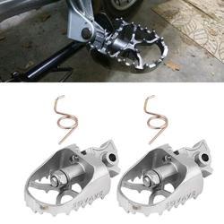 HobbyLane motocykl Billet MX szerokie stopy kołki pedały reszta podnóżki dla BMW R1200GS/ADV F800GS Yamaha WR25 gorąca sprzedaży