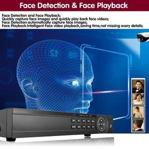 Image 3 - Gezicht 16 Kanaals Ahd Dvr 16CH 1080P 5MP 2592*11944 Digitale Video Audio Recorder Hybride Dvr Nvr Hvr 6 In 1 Alarm Security System