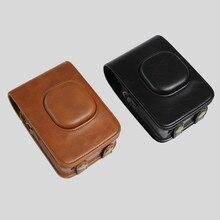 PU кожаный чехол для портативной камеры для FUJIFILM Fuji Instax Mini LiPlay сумка для цифровых устрйоств набор с плечевым ремнем