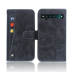 На Алиэкспресс купить чехол для смартфона hot! tcl 10 pro case luxury wallet flip leather phone bag cover case for tcl 10 pro with front slide card slot