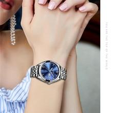 2019 women dress watch stainless steel LIGE Top brand fashion ladies wristwatch week Date Quartz clock woman luxury watches+box