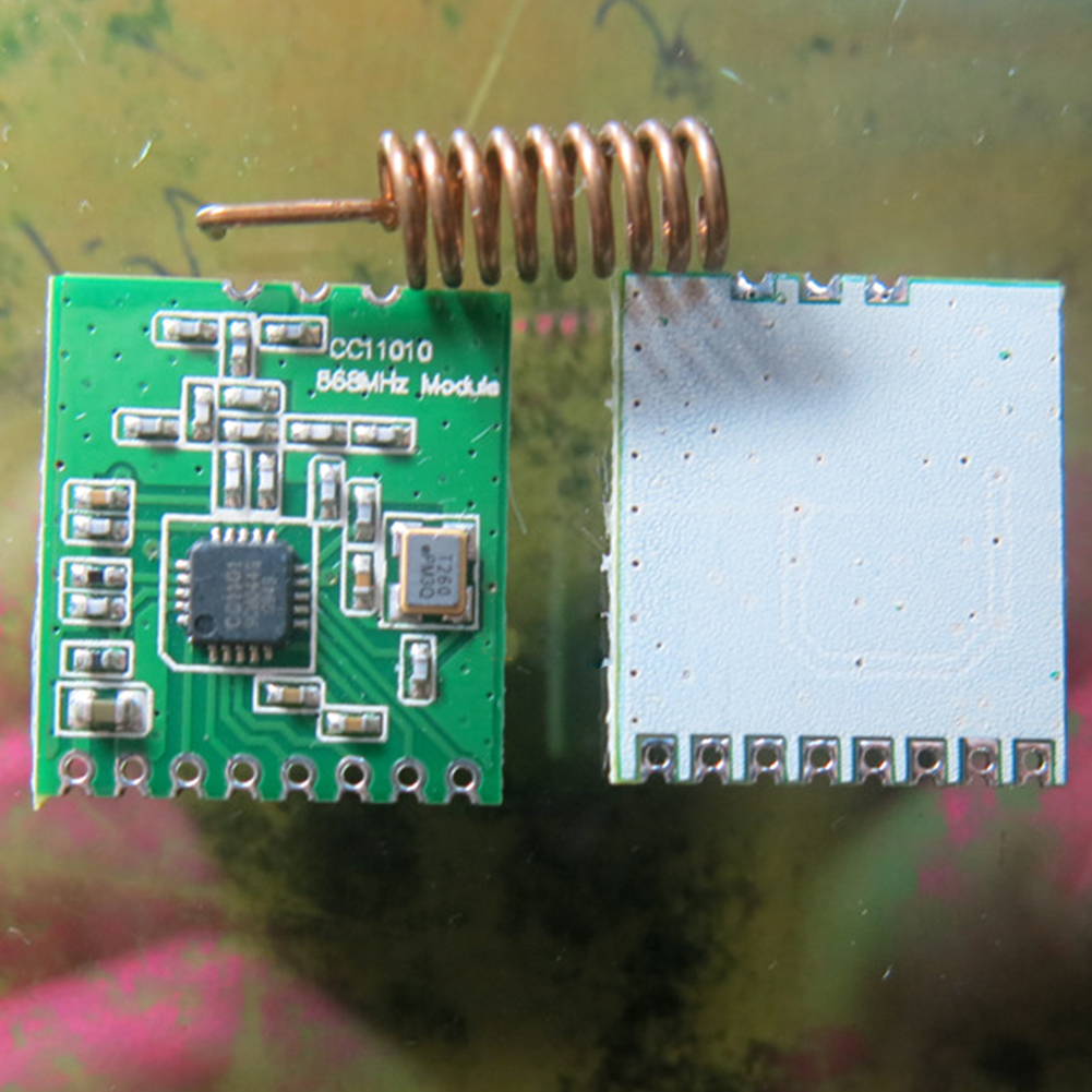 Interface Board Components CC1101 Antenna Transceiver Long Distance Accessory Wireless Module Radio Transmission Durable 868MHZ
