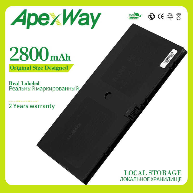 Apexway Laptop Battery For HP For Compaq ProBook 5310m 5320m 580956-001 538693-271 HSTNN-SBOH HSTNN-DB0H HSTNN-C72C 538693-961