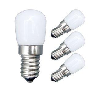 E14 220V COB LED Light Bulb 3W SMD 2835 Glass Lamp for Refrigerator Fridge Freezer sewing machine Home Lighting Lamparas