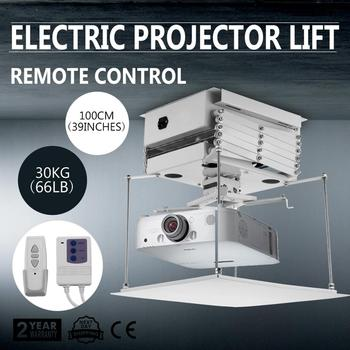 Projector Bracket Motorized Lift Projector Lift With Remote Control Hidden 220V