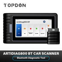 TOPDON ArtiDiag800 BT Automotive Scanner Auto Scan Tools AD800BT All System 28 Reset Functions PK MK808BT Car Diagnostic Tool