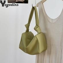 Petits sacs sous-aisselles en cuir PU pour femmes, nouveau Design d'oreiller de qualité à la mode, sac à bandoulière, pochette fourre-tout, 2021