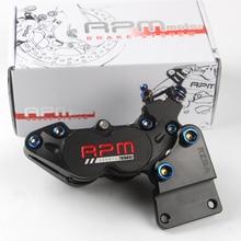 Motorcycle brake pump to four HF6 brake pump rpm big abalone brake caliper free shipping 260mm Transfer code цена