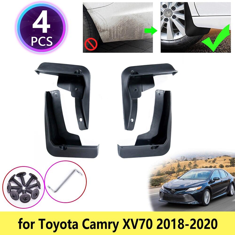 Для Toyota Camry XV70 2018 2019 2020 брызговики крыло брызговики Брызговики щитки передние и задние колеса Автомобильные аксессуары ABS