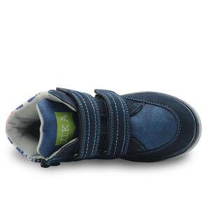 Image 4 - Apakowaเด็กวัยหัดเดินเด็กกลางแฟชั่นรองเท้าข้อเท้ากีฬากลางแจ้งกีฬารองเท้าวิ่งHook and LOOPรองเท้าผ้าใบสำหรับLittle Boys