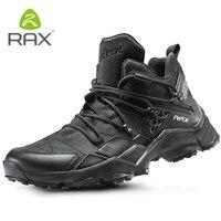 Rax tênis esportivos dos homens tênis de corrida ao ar livre sapatos caminhada esportes atlético formadores respirável almofada tênis