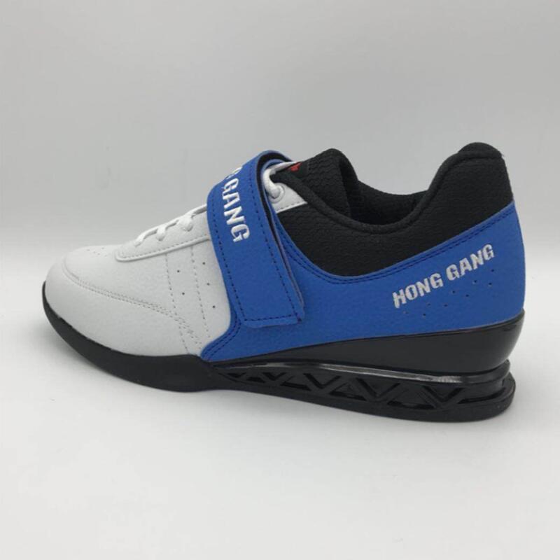 Profesional zapatos para levantar pesas zapato de levantamiento de peso Hightop gimnasio entrenamiento culturismo Suqte Levantamiento de energía