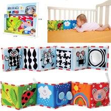 Decoración de la habitación de los bebés, paragolpes de tela para cuna, Protector doble multitáctil, libros, paragolpes para cama, cerca de cuna, toalla, juego de cama para recién nacido