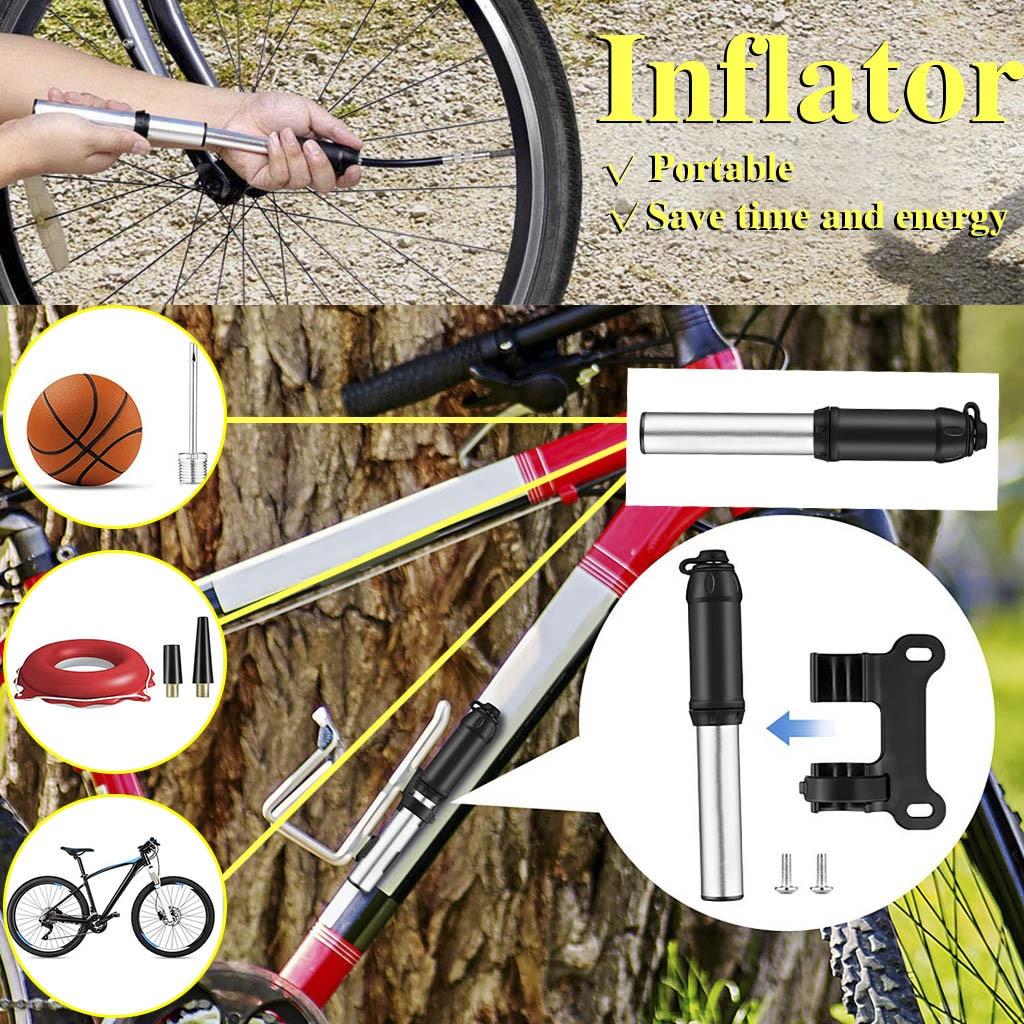 Велосипедный насос Rockbros, Сверхлегкий Многофункциональный велосипедный насос, портативный мини-насос для шин, ручной набор насосов Bomba Bicicleta...