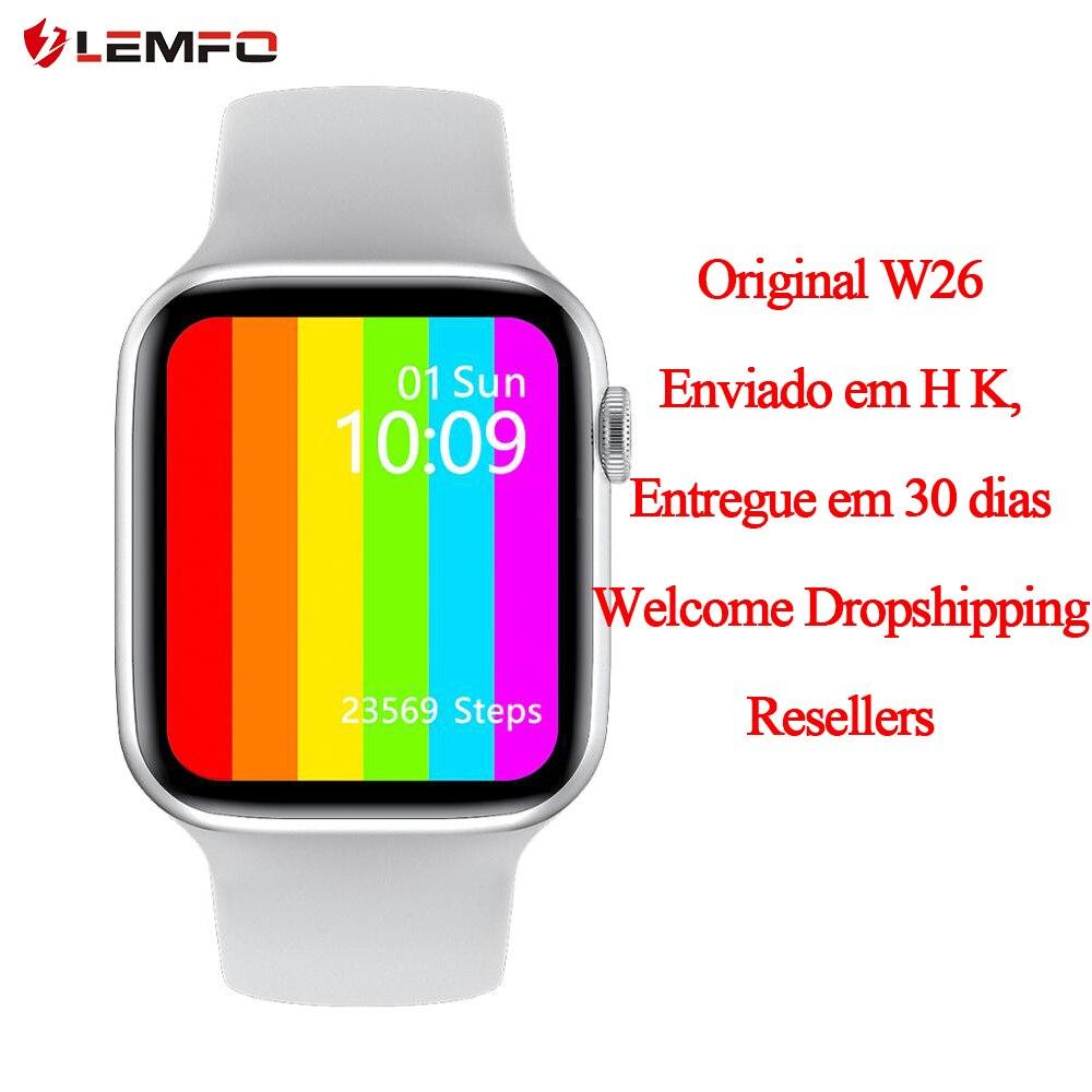 Original iwo w26 ECG PPG IP68 Smart Watch 1 75 inch 320 385 Screen Bluetooth Calls Blood Pressure Oxygen Smartwatch pk iwo w46