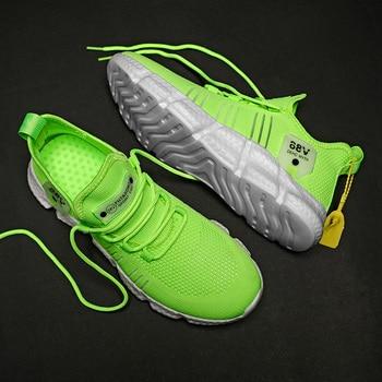 KJEDGB Hot Sale New Ultralight Soft Men s Casual Shoes Summer Sneakers Men Mesh Breathable