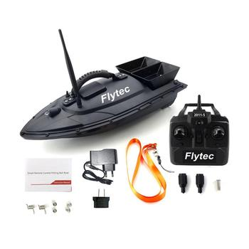 Flytec 2011-5 Smart RC Bait Boat Fishing Tool Toys Dual Motor Fish Finder Boat rc Remote Control Fishing Boats Ship Gift US Plug mini fast speed electric rc fishing bait boat 300m remote control fish finder fishing boat speedboats children kids toys gifts