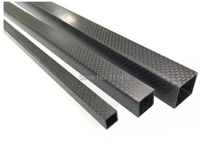 500mm 3K Roll Carbon Fiber Tube 15 13 500 13mm ID 4 pcs x Matte 15mm OD
