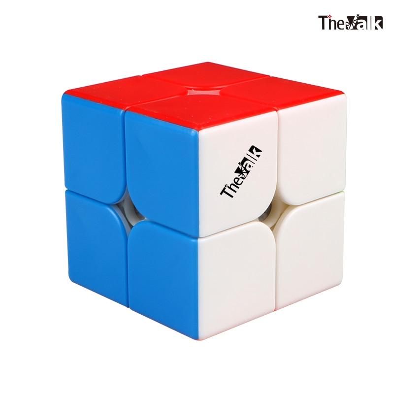 QiYi Valk2 M 2x2x2 Magnetic Magic Cube Speed Puzzle Valk 2 POWER  Boys Toys  Professional Educational  Toys Children