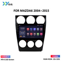 Горячая Распродажа 2.5D 9 дюймов Android 8 1 автомобильный Радио dvd-плеер для MAZDA 6 2004-2015 GPS ГЛОНАСС Навигация Аудио Видео SWC