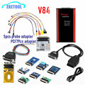 iProg pro+ Programmer V84 Full Version Full adapter with Probe adapter PCF79XX Support IMMO + Mileage Correction + Airbag Reset