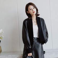 Женская куртка из натуральной овечьей кожи g36 новинка 2020