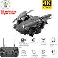 4 Zangão profissional K com Câmera HD 1080P WI-FI Câmera Follow Me Quadcopter WI-FI FPV Zangão Bateria de Longa Duração brinquedos Para As Crianças