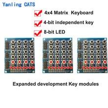 Expanded Keyboard Switch Matrix Push-Button Array-Module 4 Keypad 8 Developmentdiy-Kit
