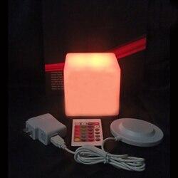 D10 * H9cm تضيء ليد مكعب داخلي ضوء الاطفال مكعب البراز مقاوم للماء IP68 led مكعب الإضاءة شحن مجاني 1 قطعة