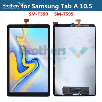 For Samsung Galaxy Tab A 10.5'' SM-T590 SM-T595 T590 T595 LCD Dispaly Assembly for Tablet LCD Screen Touch Screen Digitizer Test