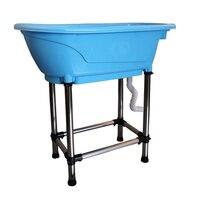 Pet Bathtub Large Pet Products Non slip Bath Tub Stainless Steel Easy Install Kedi Malzemeleri Köpek Aksesuar Plastic Cheap