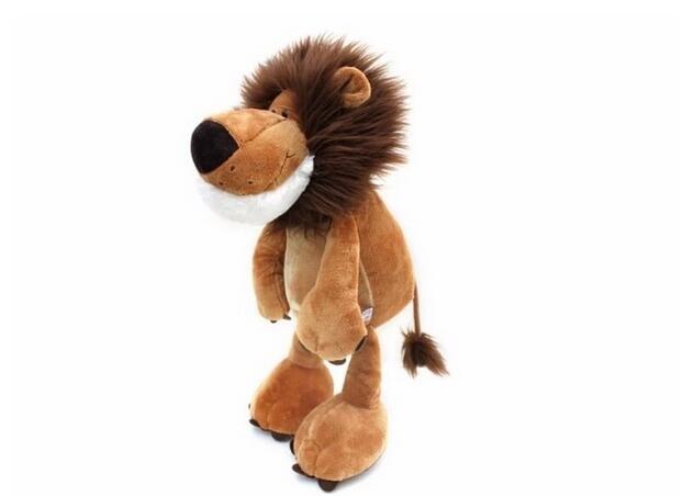 25CM Lion Elephant Giraffe Monkey Stuffed Plush Doll Jungle Series Stuffed Animals Toys for Kids Baby Children Gifts Stuffed Animals & Plush cb5feb1b7314637725a2e7: 25cm lion