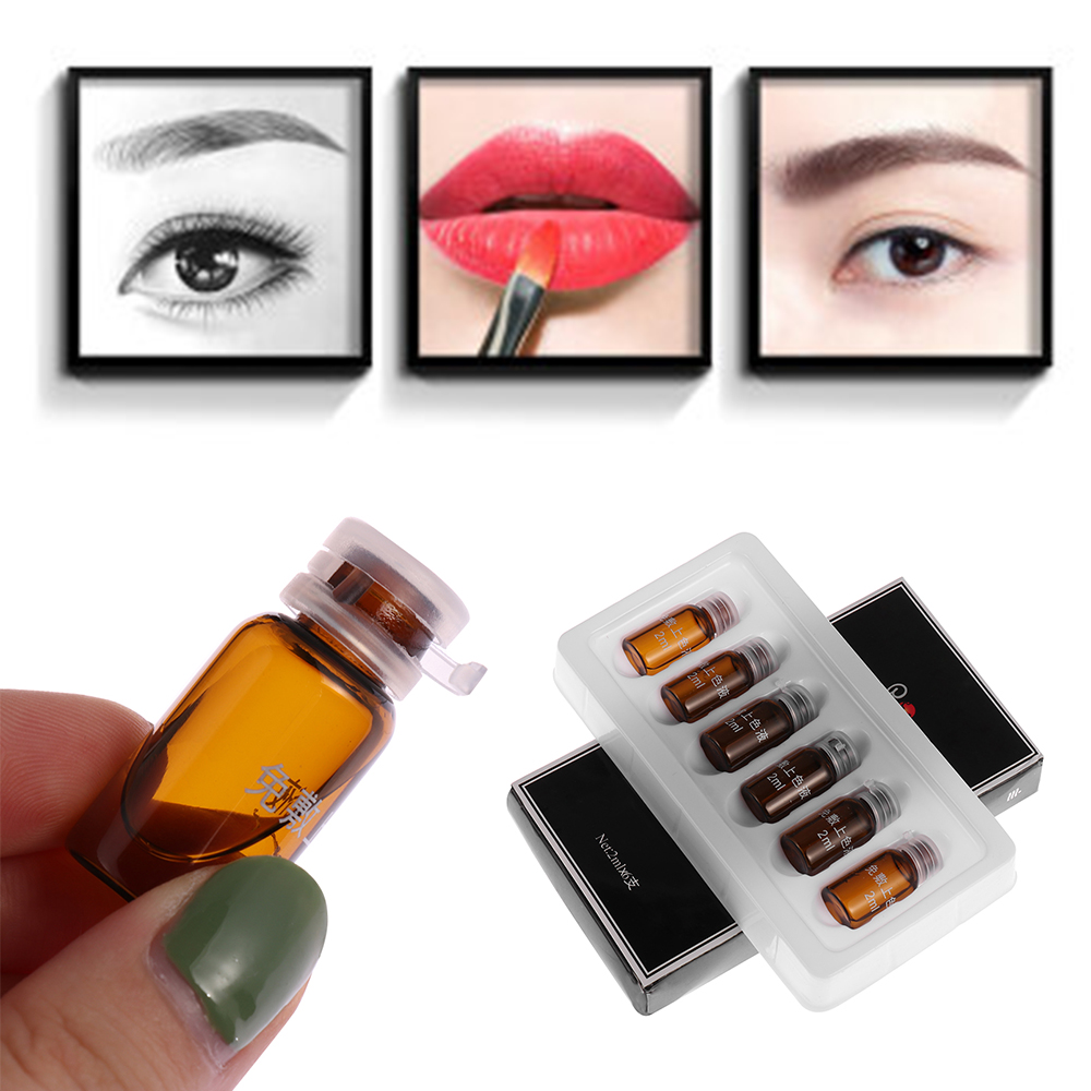 Effective Microblading Eyebrow Lips Tattoo Ink Coloring Fluid Anesthetic Numbing Permanent Makeup Supplies Tattoos Body Art