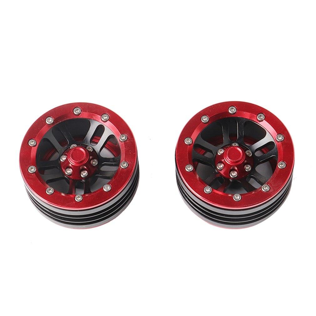 CJG226 1:10 RC Crawler Metal Alloy 1.9 Inch Beadlock Wheel Rim For Axial SCX10 RC Car Wheel Hub Durable Use