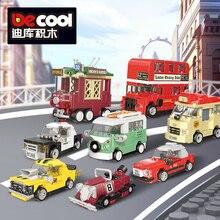 Super Racers Speed Champions 2019 Pull Back Mini Car Building Blocks Bricks Child Kids Toys Sets
