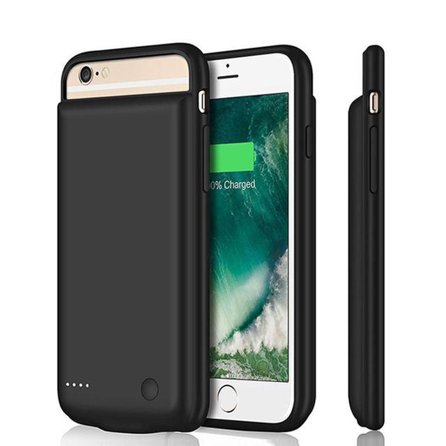 5000mAh עבור iPhone סוללה מטען מקרה חכם iPhone6/6s/7/8 Batery מקרה נייד כוח בנק מטען כיסוי מקרה
