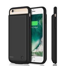 스마트 iPhone6/6s/5000 Batery 케이스에 대 한 아이폰 배터리 충전기 케이스에 대 한 7/8 mAh 휴대용 보조베터리 충전기 커버 케이스